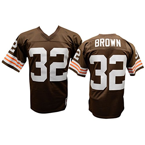 Jim Brown Cleveland Browns Mitchell and Ness Throwback Jersey (XXL)