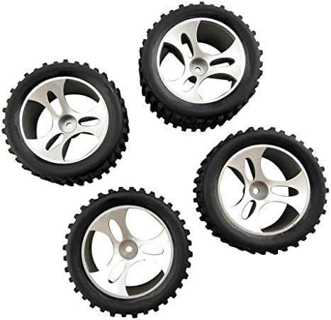 プラスチック 1/18RCカー タイヤ RCカーホイールセット Wltoys A959に対応 交換部品 4個入り