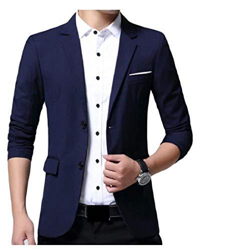 Fit Business One Uomo Monopetto Di Slim Il Completo Tempo Blazer Mode Da Con Per Bolawoo Giacche Casual Libero Marca qAxZwUqI