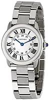 Cartier Women's W6701004 Rondo Solo Stainless Steel Bracelet Watch from Cornerwind Media