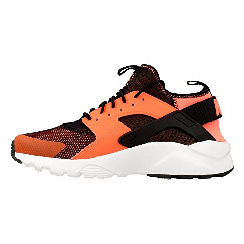Nike Mens Huarache Run Ultra Running Sneaker Nero / Totale Bianco Cremisi