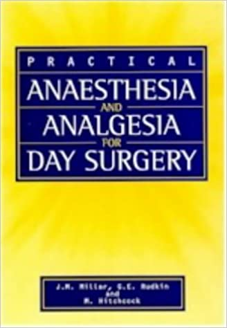 Anaesthesia and Analgesia for Day Surgery