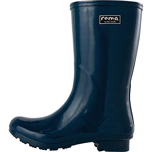 Mid EMMA Boots Women's Navy Boots Roma Rain qpt6Wa