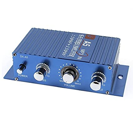 DC 12V 150W de coches Mini amplificador estéreo de potencia de Audio