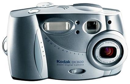 amazon com kodak dx3600 easyshare 2mp digital camera w 2x optical rh amazon com Kodak EasyShare DX7630 Kodak EasyShare DX7630