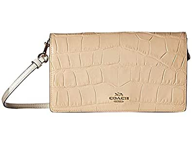Amazon.com: COACH Womens Embossed Croc Hayden Beechwood ...