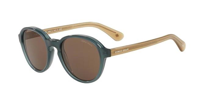 Armani GIORGIO 0AR8113 Gafas de sol, Opal Green, 52 para ...