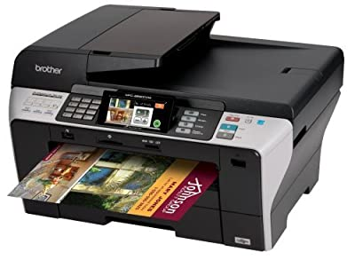Brother MFC-6890CDW Professional Series Color Inkjet All-in-One Printer/Copier/Scanner/Fax with Duplex Printing and Wireless Networking