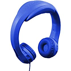 HeadFoams Headphones for Kids, Royal Blue