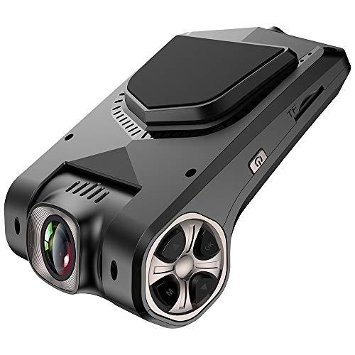 Vehicle Fan,Dash Cam FUNBOT Full HD 1080P 2.45 LCD 170 Degree Wide Angle Dashboard Camera Recorder, 16GB MICROSD Card, Sony Video Sensor, G-Sensor, Night Vision, WDR, Loop Recording