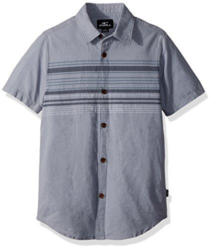 - O'Neill Big Boys Serf Short Sleeve Woven, Light Blue, L