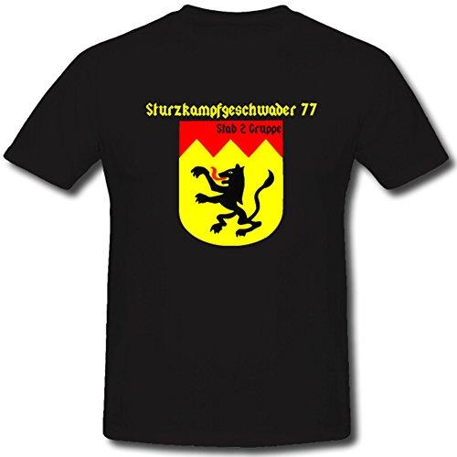 sturtzkampf geschwader 77 Francia Alemania WH WK Planeador Korps Aire Flota Aire Arma England - Camiseta # 1074: Amazon.es: Ropa y accesorios