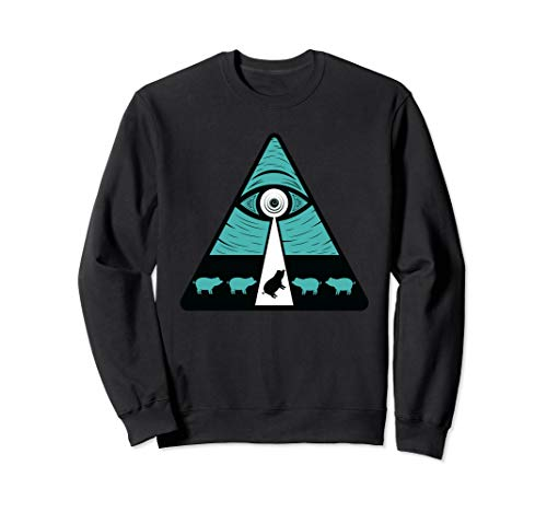 Shane Dawson - All Seeing Eye - Oh My God Pig - Sweatshirt