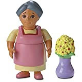 Dora the Explorer: Figures for Dora's Talking Doll House: Abuela with Flowers, Baby & Kids Zone