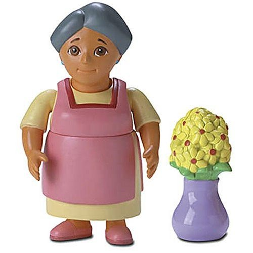 Dora the Explorer: Figures for Dora's Talking Doll House: Abuela with Flowers
