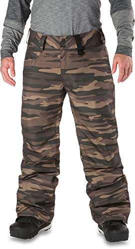 Dakine Men's Artillery Pants, Field Camo, L - Pant Snowboarding Field