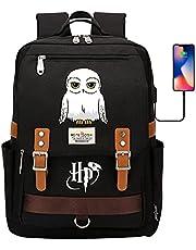 Harry Magic Potter-boekentas, Hedwig Owl-rugzak, 7 ~ 15-studentenpakket met USB-poort