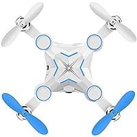 Owill M1 Mini Foldable 0.3M HD FPV 3MP 2.4G 4CH 6Axis RC 3D Roll A Key Return Quadcopter (Blue)