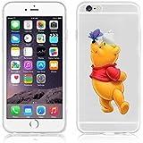 Disney Winnie Puuh & Freunde TPU-Soft-Case-Schutzhülle für Apple iPhone 6/6S & 6+ 6+ S, plastik, WINNIE .2, APPLE IPHONE 6/6S