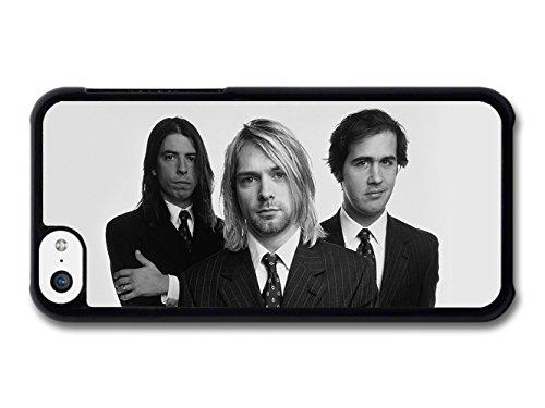 Nirvana Band Black & White Kurt Cobain coque pour iPhone 5C