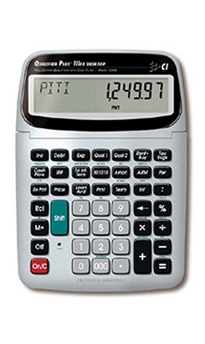 Calculated Industries 43430 Desktop Qualifier Plus IIIFX DT Real Estate Finance Calculator by Calculated Industries