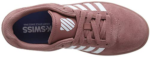 old Para swiss K Zapatillas Mujer Sde 641 Court Rose Cheswick Rosa white F8qwX8