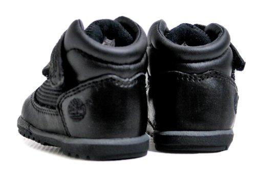 Timberland Field Crib Bootie (Infant) Black