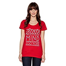 Zoo York State of Mind Tee Shirt Tshirt Top Damen Womens Girls