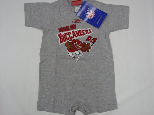 Tampa Bay Buccaneers NFL Baby/Infant Onesie/Creeper 12 months, 24 months (Reebok Infants Nfl Creeper)