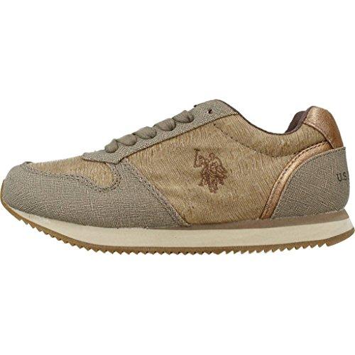 Polo Zapatillas Para Niño, Color Marrón, Marca, Modelo Zapatillas Para Niño Stew Vogue Marrón marrón