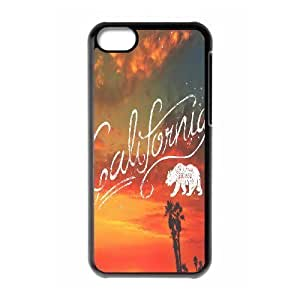 California Love High Qulity Customized Cell Phone Case for iPhone 5C, California Love iPhone 5C Cover Case