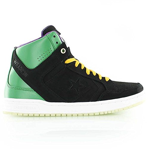 Converse Space Weapon Invader Mid Black/Green Mens 10.5