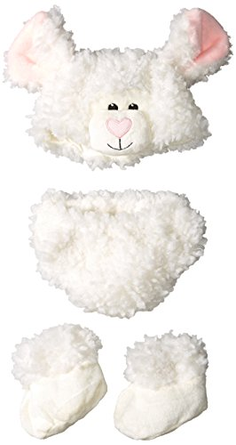 Princess Paradise Baby's Cuddly Lamb Diaper Cover Set, White, One Size (Pink Lamb Costume)