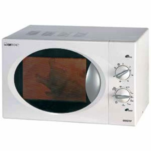 Clatronic MWG 737 horno micro ondes plata 800 Watts Gril 1000 ...