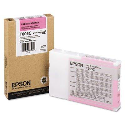Ultrachrome Ink Magenta (Epson T605C00 UltraChrome K3 110ml Light Magenta Cartridge (T605B00))