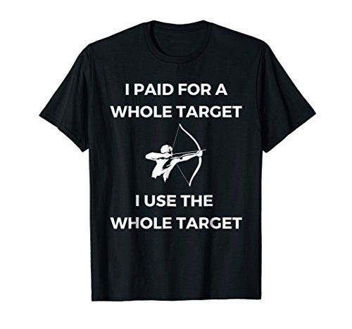 Passion Archery T-Shirt Men Women Bow Hunting Target Edition (Wild Boar Archery Targets)