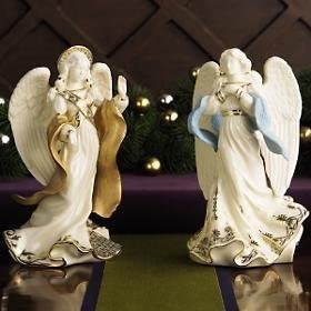 Lenox First Blessing Nativity 2 Angel Hope Peace