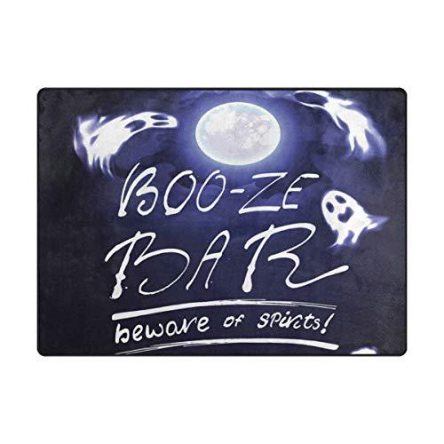 SUABO Halloween Area Rug 63 x 48 inches Non-Slip Floor Mat w