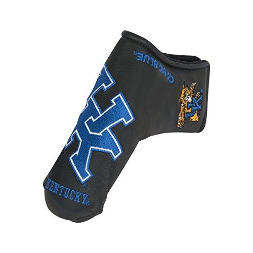 Team Effort Kentucky Wildcats black Blade Putter (Black Putter Headcover)