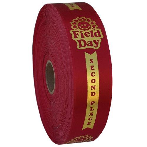 Premium Ribbon Rolls - Field Day 2nd Place