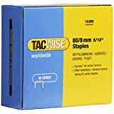 Tacwise Type 80/8mm Staples for Staple Gun (Pack of 10000)