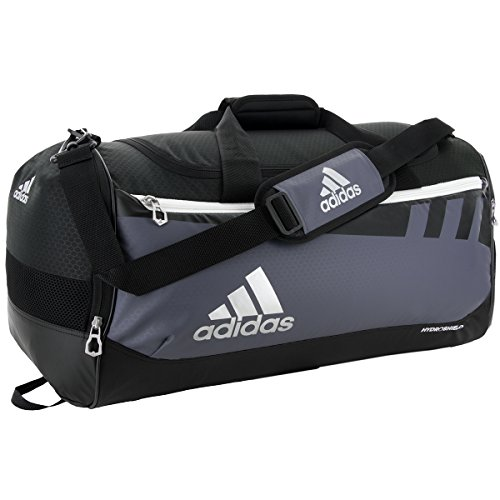 Adidas Team Issue Duffel Bag, Onyx, Medium - Kid Kick Shield