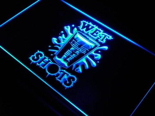 Pong Wet Shots Bar Neon Light Sign ()
