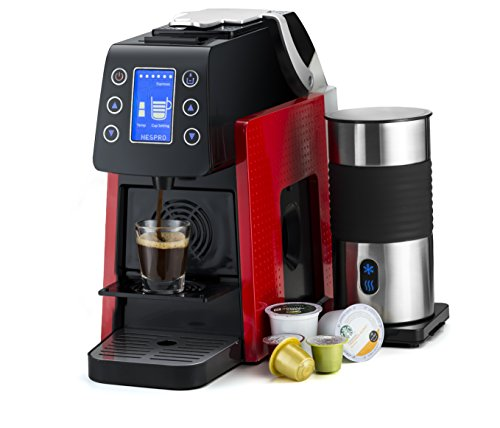 Gourmia GCM5000 One Touch Multi Capsule Coffee Machine, - Import It All