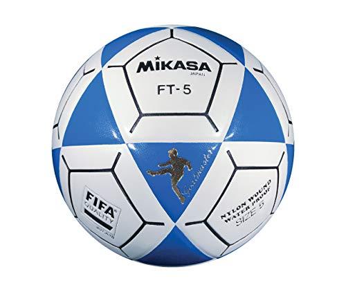 (Mikasa FT5 Goal Master Soccer Ball, Blue/White, Size 5)