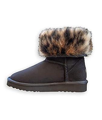 d8c59af54ad PAWJ California Short Vegan Fur Lined Boot