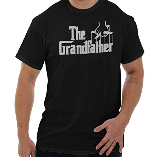 Grandfather Classic Italian Mafia Movie T Shirt Tee Black