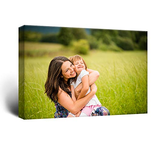 (wall26 Personalized Photo to Canvas Print Wall Art - Customize Your Photo On Canvas Wall Art - Digitally Printed - 24
