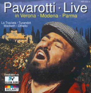 Pavarotti Live in Verona by Alex