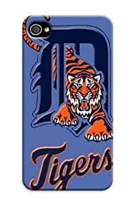 iphone 4 4s Protective Case,3D Best Baseball iphone 4 4s Case/Detroit Tigers Designed iphone 4 4s Hard Case/Mlb Hard Case Cover Skin for iphone 4 4s